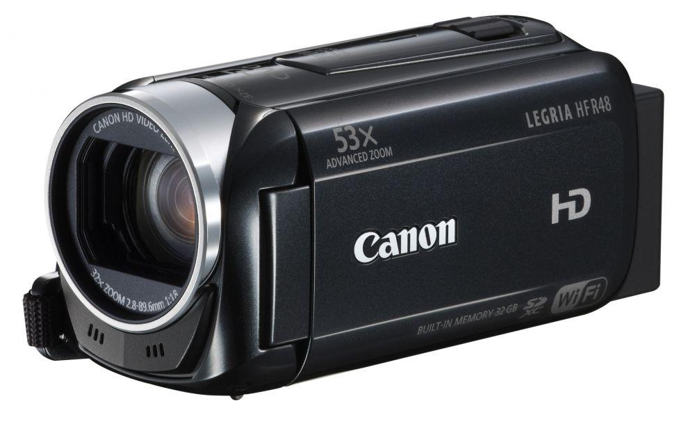 Canon_LEGRIA_HF_R46_WiFi_3_szinben_piros