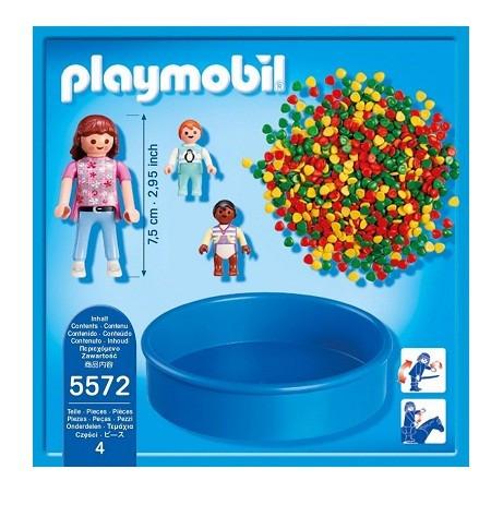 Playmobil Medence labdákkal 5572